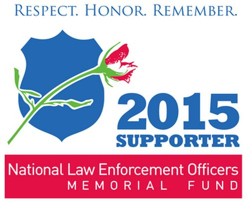 National Law Enforcement Officers Memorial Fund Free 2015 Supporter Decal