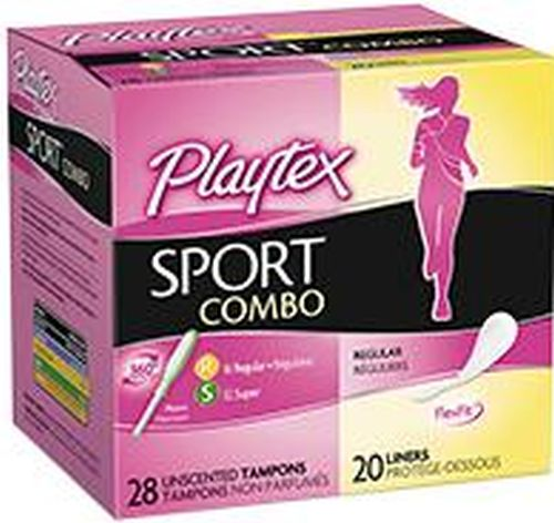 Playtex Sport Pads Liners Combo Packs