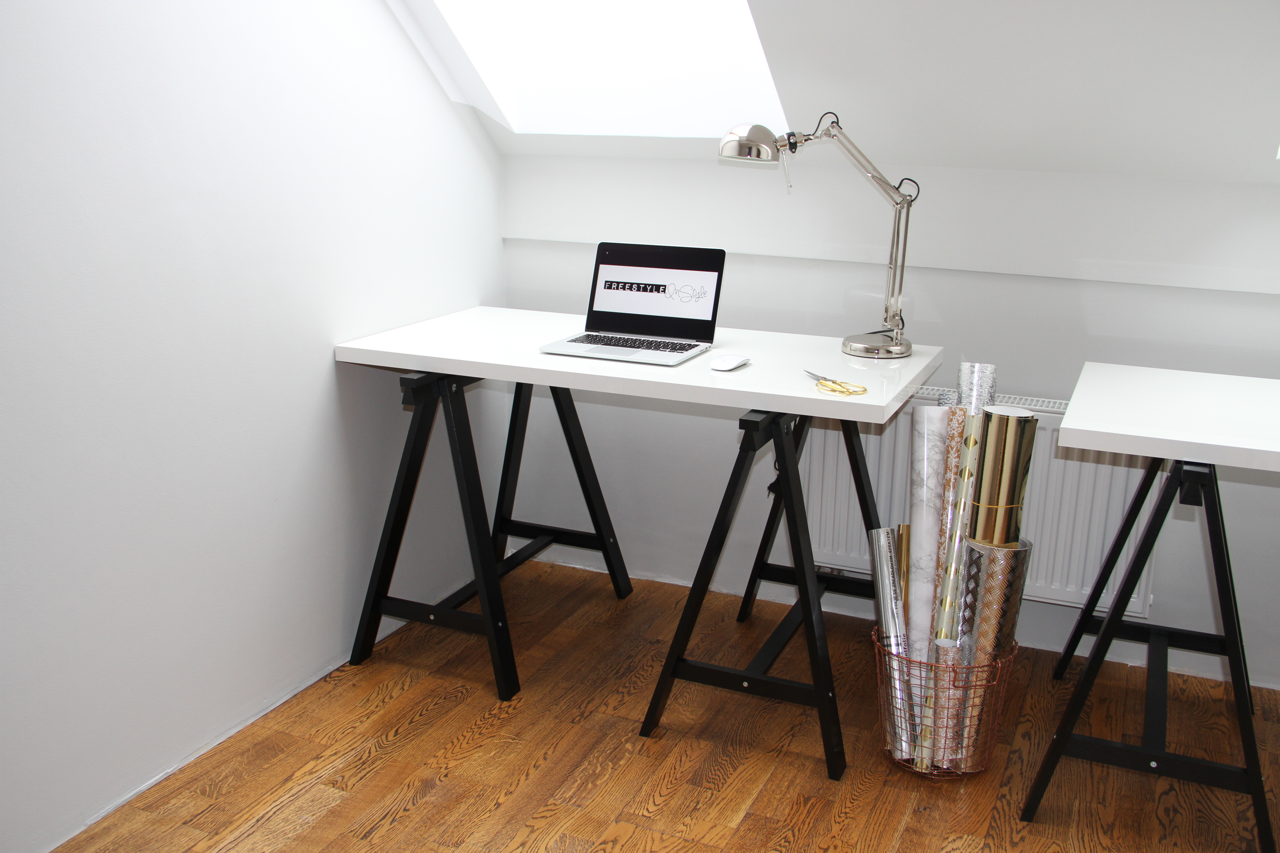 Biurka Ikea Home Office Makeover Freestyleinstyle