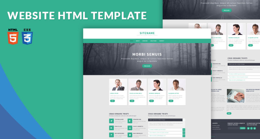 responsive html template usefulresults