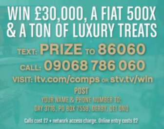 Loose Women Competition Fiat 500