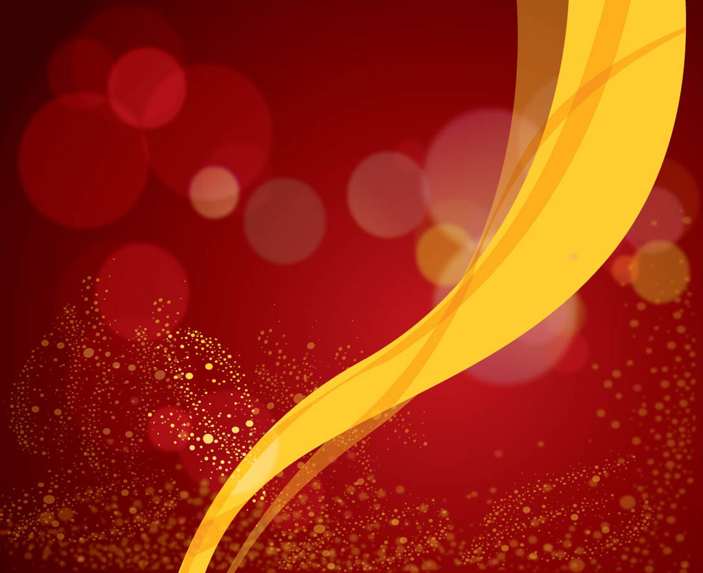 Red And Yellow Decor Red Background Vector Yellow Ribbon Vector Art And Graphics