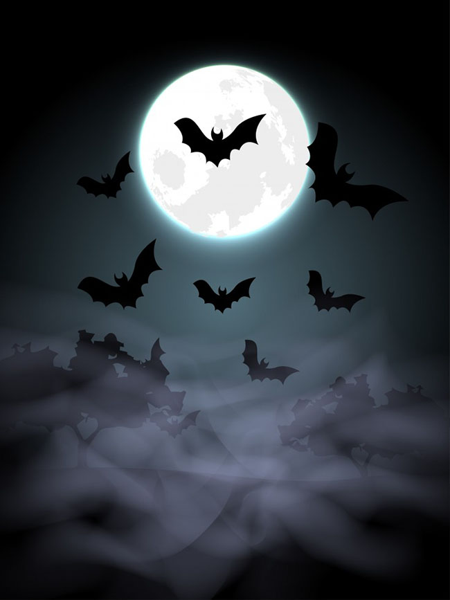 Spooky Halloween Background - Free Vector Site Download Free