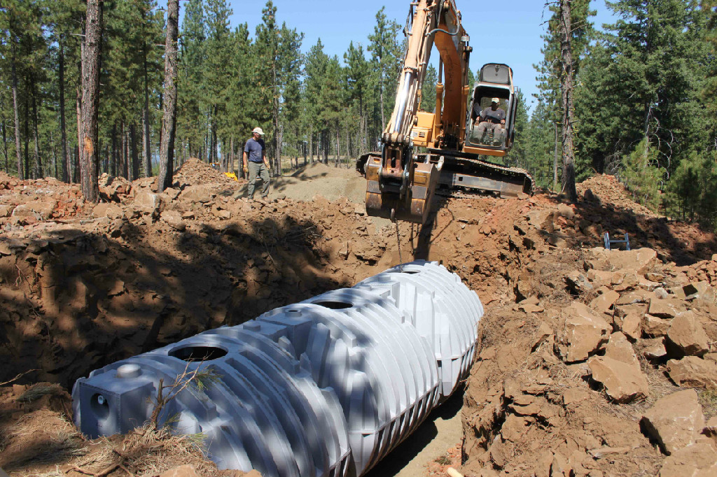 Free Water Systems Underground Water Tank Installation