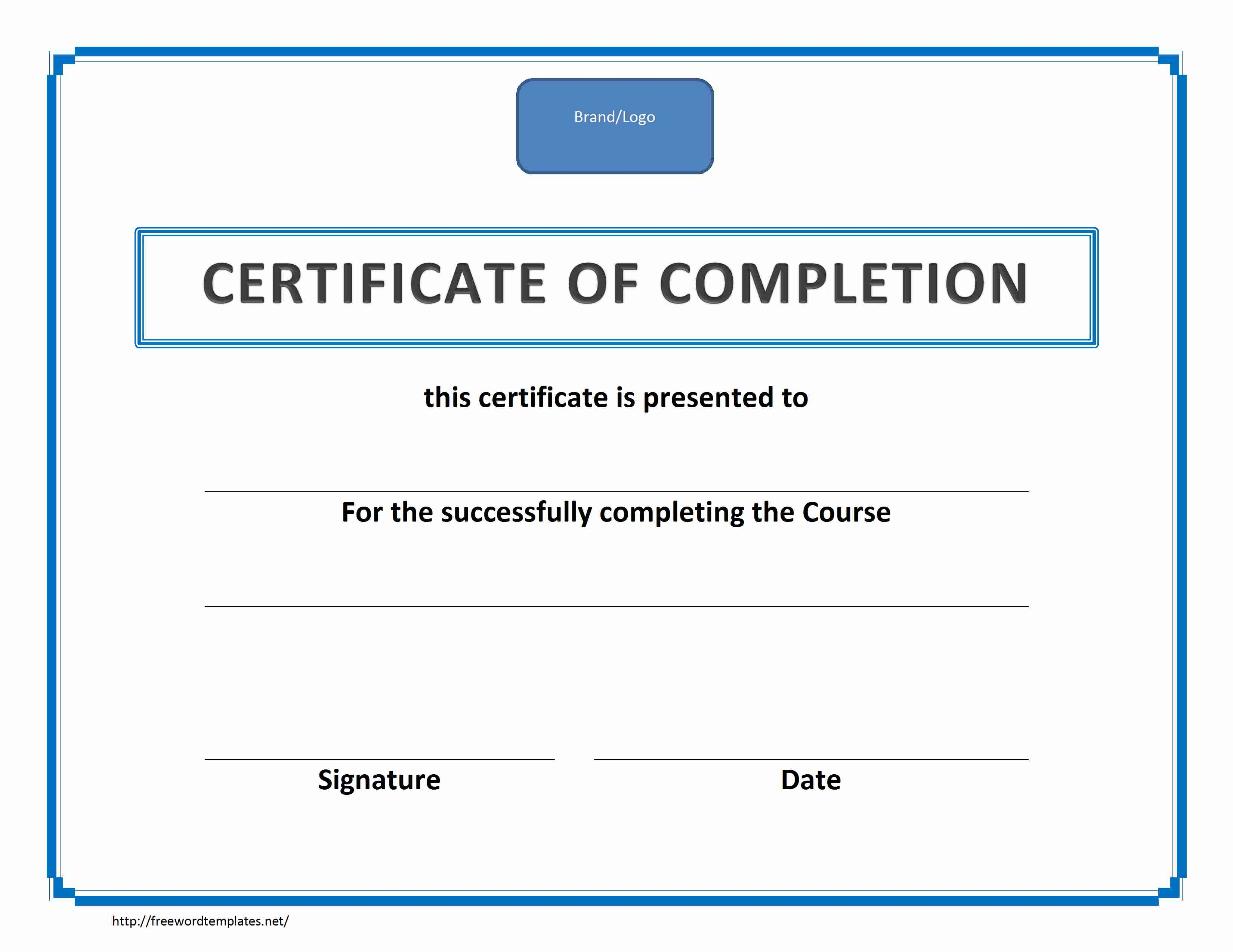 Ms Word Certificate Border Template | Sample of Cvletter Pdf