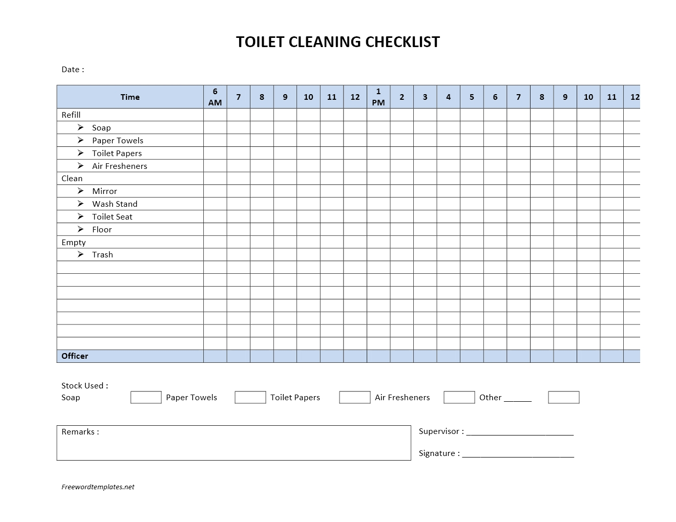 toilet checklist template best online resume builder best resume toilet checklist template toilet checklist template 2 templates in pdf word template labor invoice