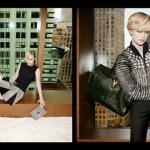 Ракель Циммерман в рекламе Yves Saint Laurent