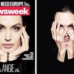 Angelina Jolie Covers 'Newsweek' Magazine