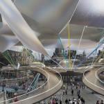 Концепция павильона для Олимпиады 2012 года в Лондоне