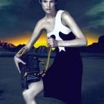 Рекламные кампании Versace, Etro и Jimmy Choo (осень-зима 2011-12)
