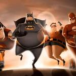 """Fat Superheroes"" by Carlos Datolli"