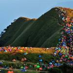 Camping Festival in Jiangxi Province, China
