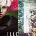 Lady Gaga for Elle US