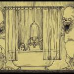Monster Drawings by Don Kenn