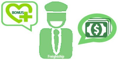 give incentive drivers freightship