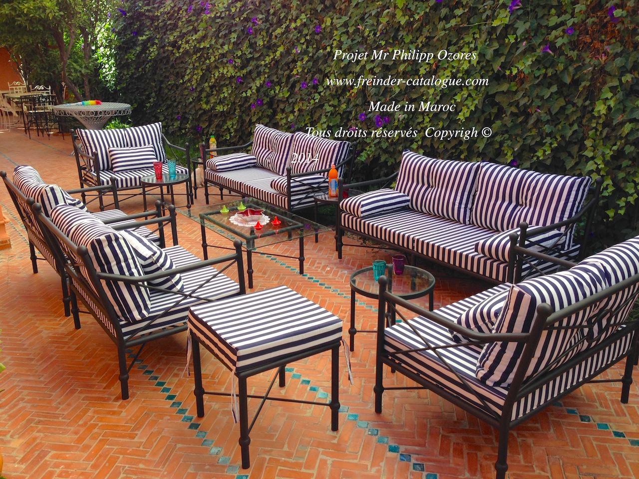Chaise Fer Forge Style Marocain Beautiful Salon De Jardin Style Marocain Images Awesome