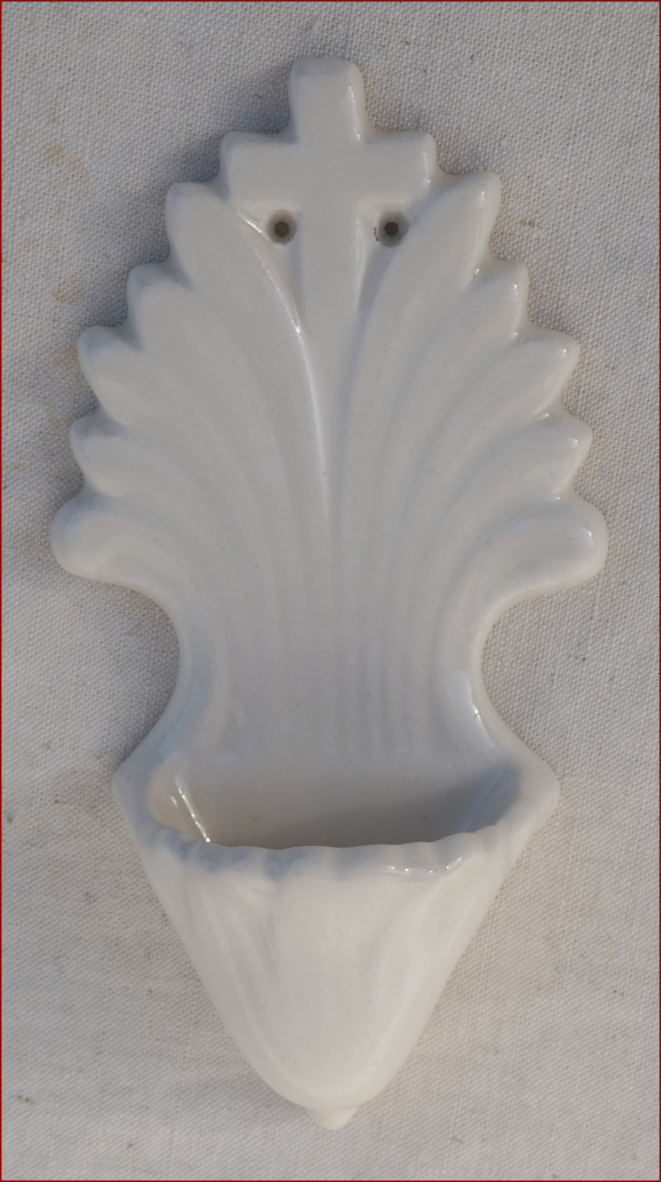 Deco Quimper Details About Hb Quimper Art Deco Wall Holy Water Font White Faience France 1930