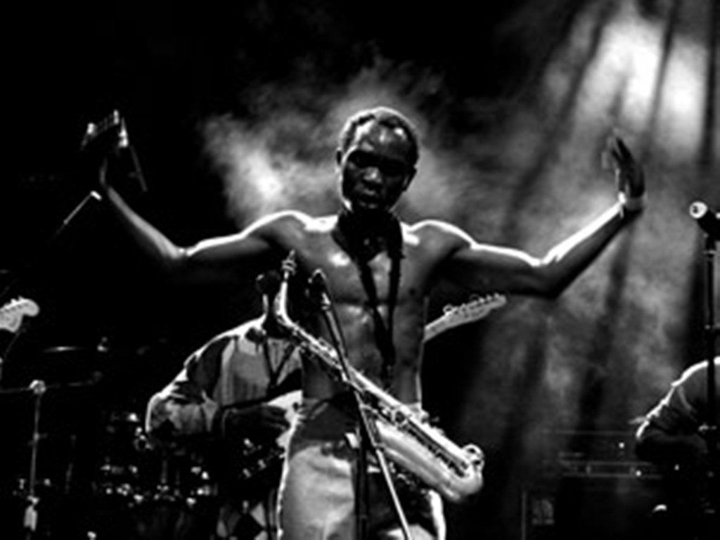 Fela Kuti Concert Seun Kuti And Felas Egypt 80 French Culture Sf
