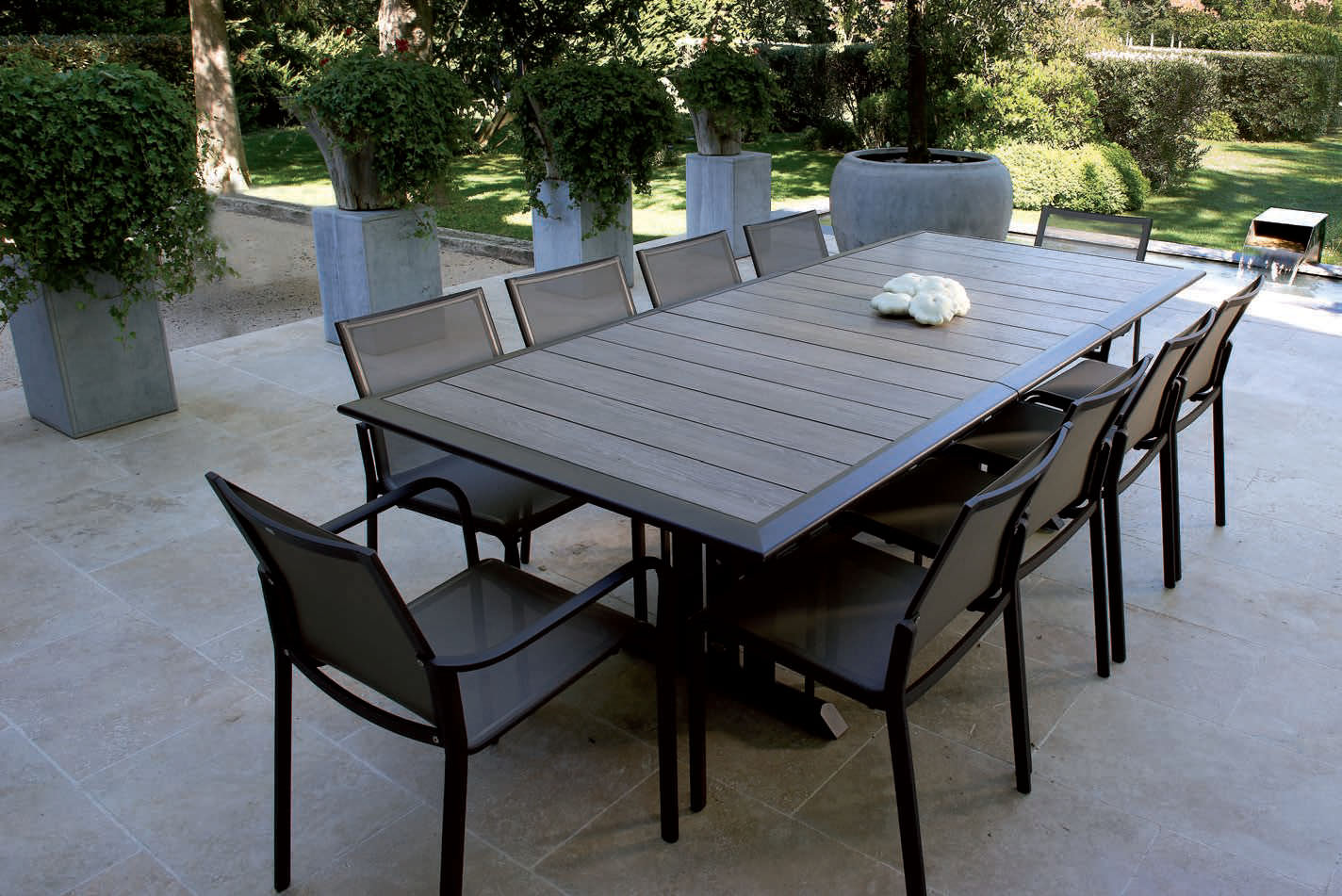 Salon De Jardin Aluminium Composite Table De Jardin Composite Beautiful Stunning Salon De