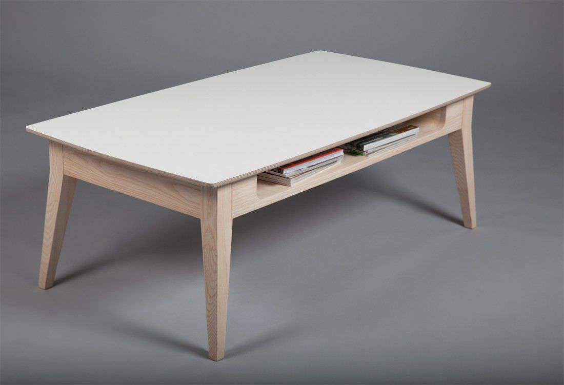 Table Basse Scandinave Blanche Table Basse Blanche Table Basse Blanche Relevable Reena Univers