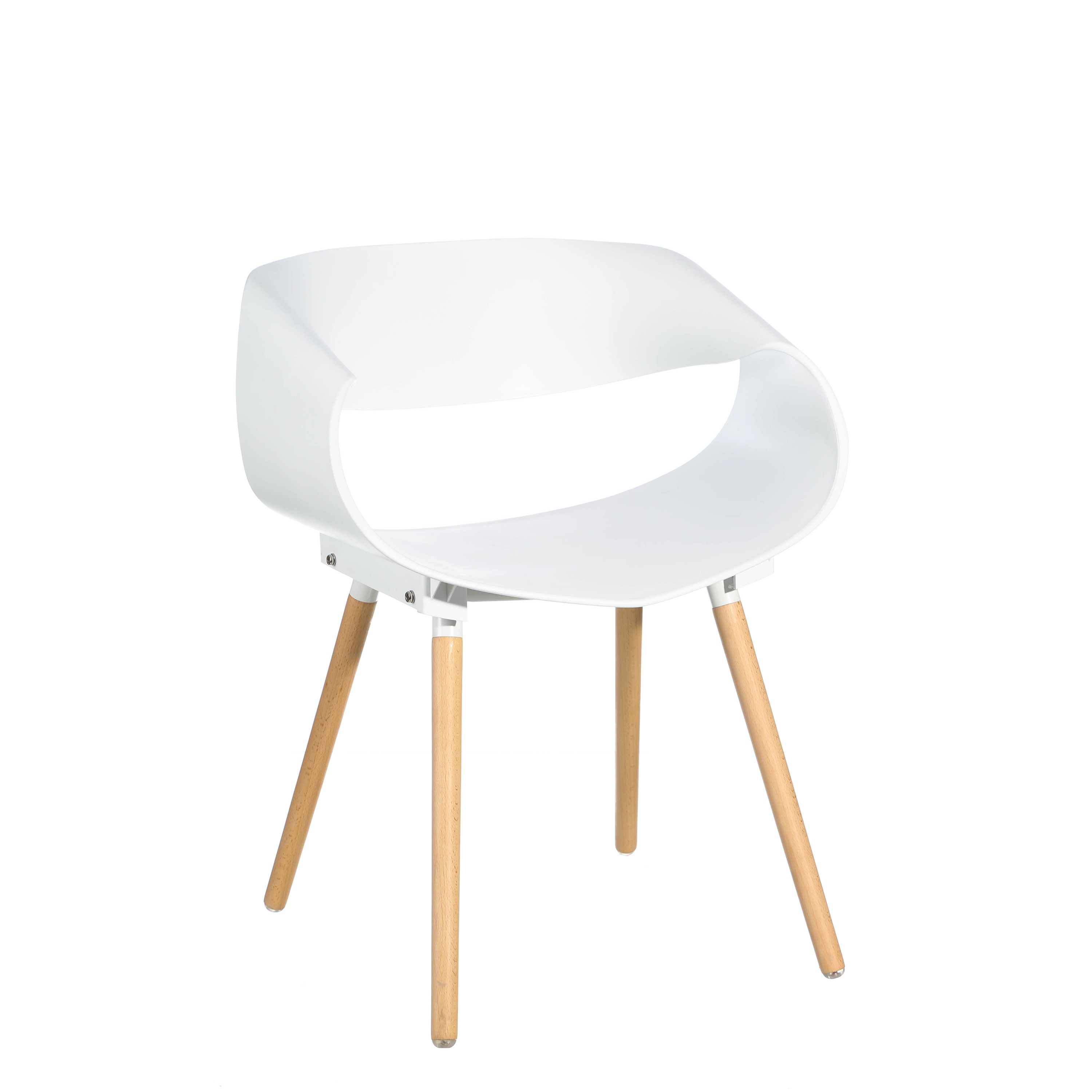 Chaise Blanche Pied Bois Chaise Blanche Pas Cher