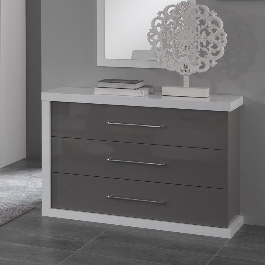 Commode Chambre Design Meuble Commode Design Meuble Commode Laqu Blanc Design Commode