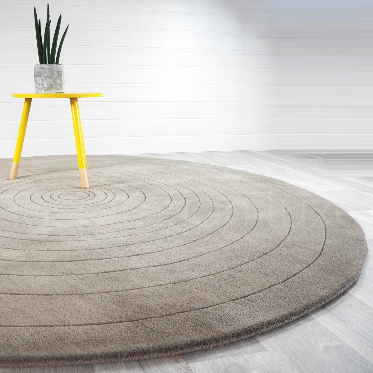 Rond Salon Design Tapis De Salon Rond Maison Design Edfos