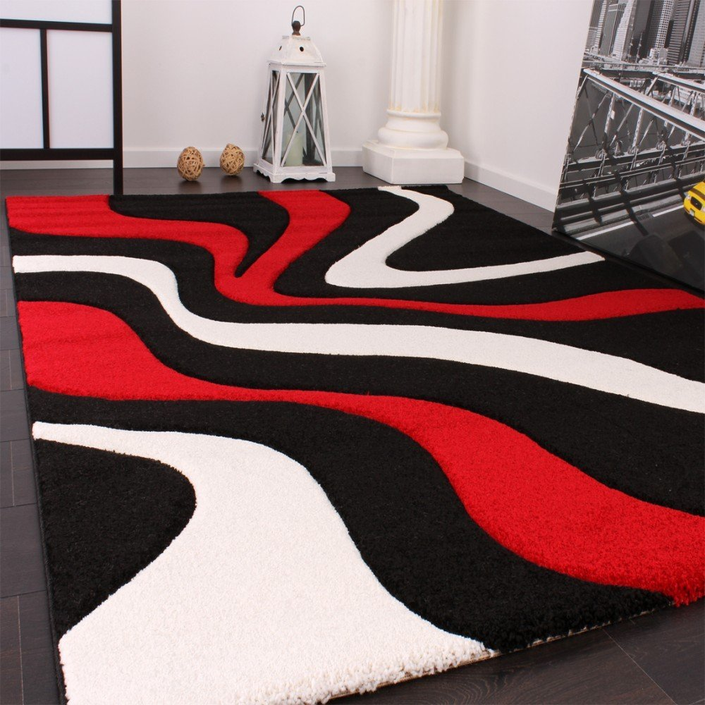 Tapis Salon Gris Rouge Tapis Salon Rouge Noir Blanc Tilburgsourdough
