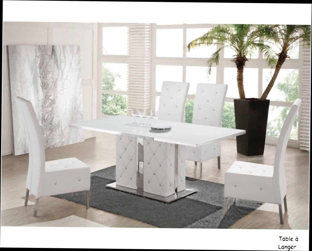 Chaises Blanches Design Salle Manger Chaises Blanches Design Salle Manger Idées De Décoration
