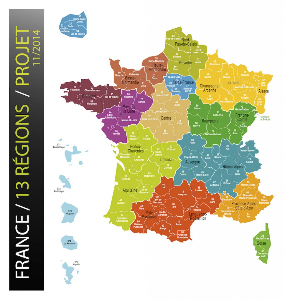 Region De La Provence New Map Of France Reduces Regions To 13