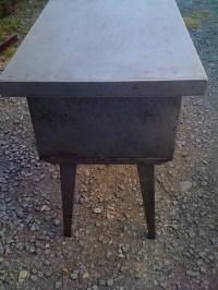 Super Shiny Polished Vintage Steel (Furniture ...