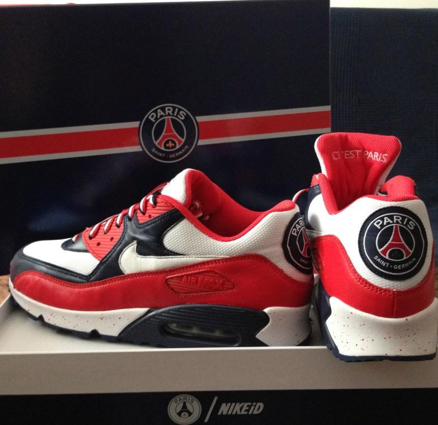 ... ICICESTPARIS Paris Saint-Germain Nike Air Max 90 ... 63e099b801