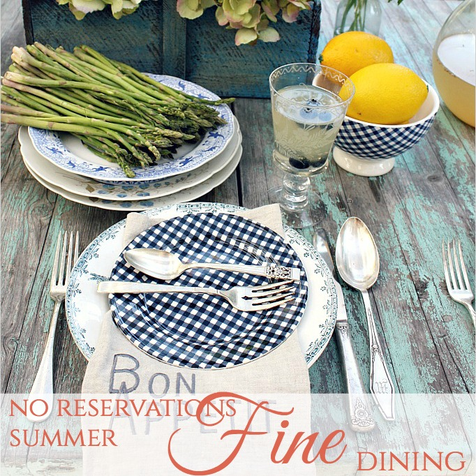 No Reservations | Summer Fine Dining