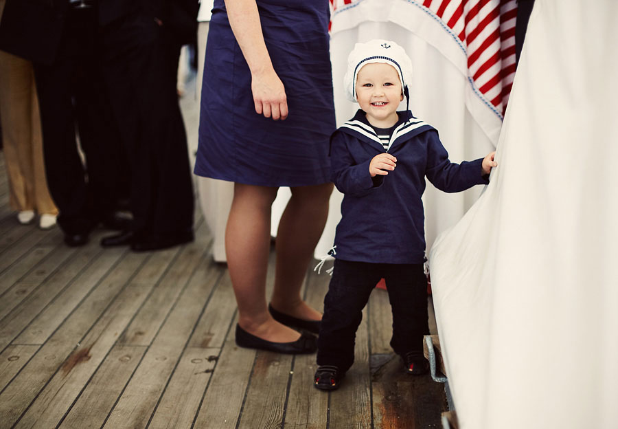 Wozaczinski Dagmara+Maciek 14 Married on a Boat in a Beautiful Sailor Outfit