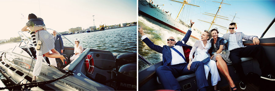 Wozaczinski Dagmara+Maciek 26 Married on a Boat in a Beautiful Sailor Outfit