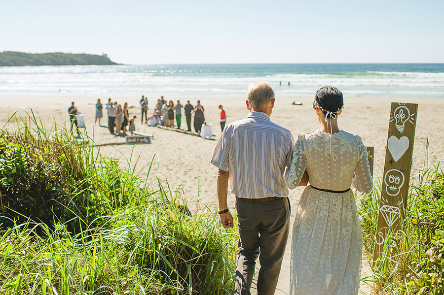 tofino beach wedding nordica photography 12 Intimate and Personal Wedding on the Beach in Canada