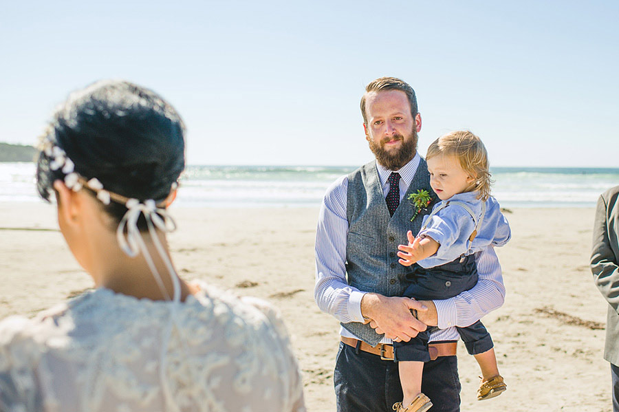 tofino beach wedding nordica photography 13 Intimate and Personal Wedding on the Beach in Canada