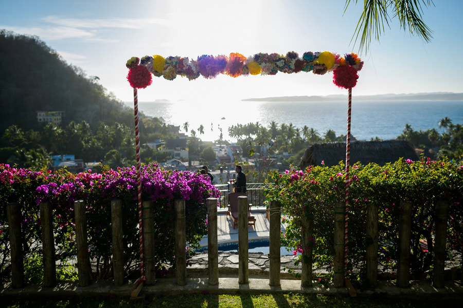destination wedding mexico chrisman studio 01 Colorful Destination Wedding in Mexico
