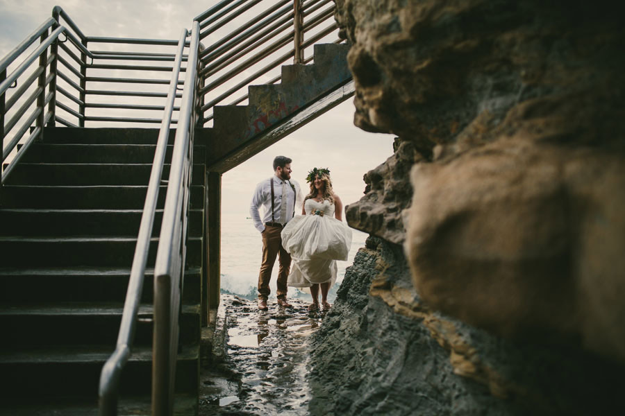 sea elopement pregnant bride 17 An Elopement in San Diego with a Nearly 9 Months Pregnant Bride