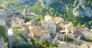 The village of Les Baux-de-Provence © French Moments