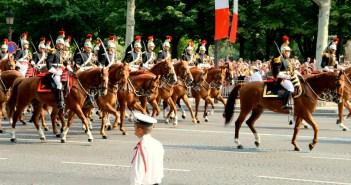 The military parade on Bastille Day © Craig Rettig