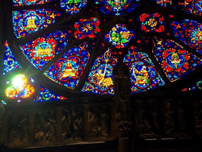 Details of a rose window, Reims Cathedral © French Moments