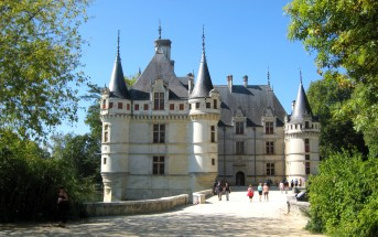 Azay-le-Rideau © Stabron - licence [CC BY-SA 3.0] from Wikimedia Commons