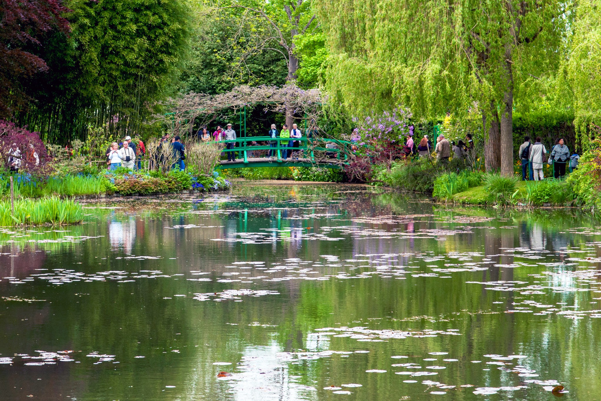 Garden S Monet 39s Gardens In Giverny French Moments