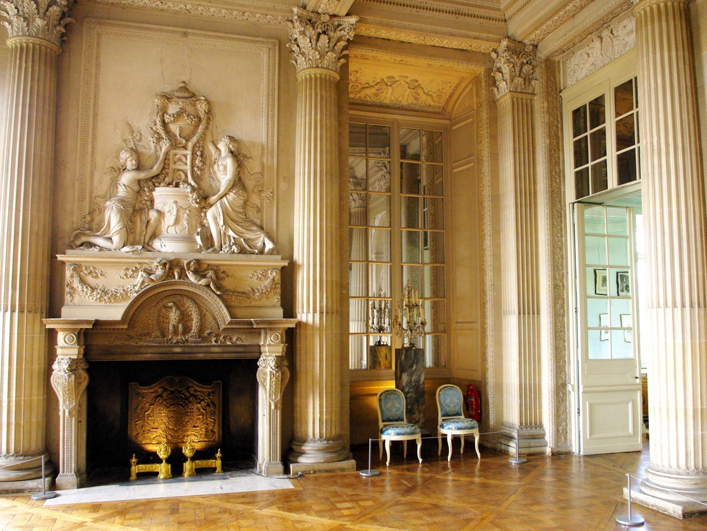 Interiors France Chateau Maisons Laffitte Interior 19 Copyright French