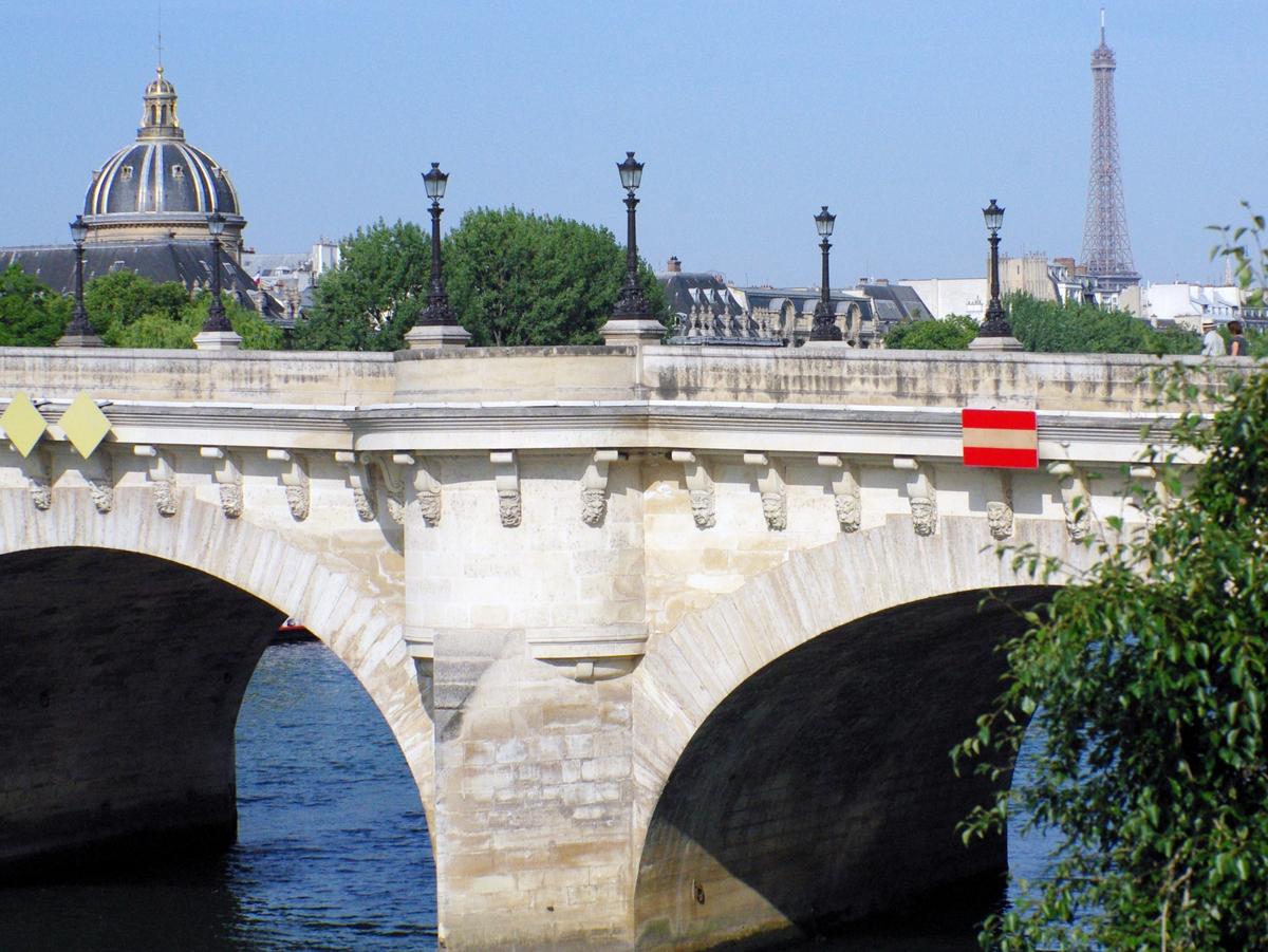 Pont neuf from quai de la m gisserie french moments french moments - Quai de la megisserie ...
