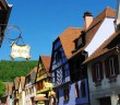 Half-timbered houses in Kintzheim © French Moments