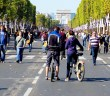Paris car free on the Champs-Élysées © French Moments