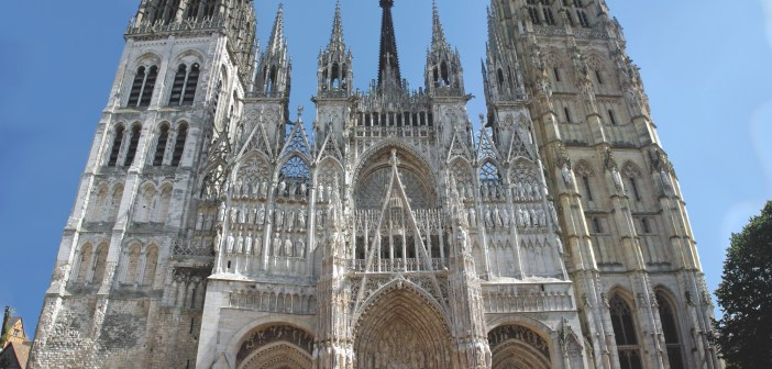 The West front of Rouen Cathedral © French Moments