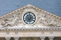 Public clocks in Paris
